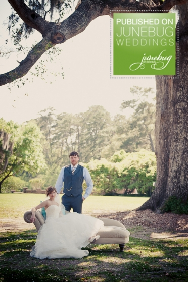 Elizabeth Davis Photography featured on Junebug Weddings - Drew & LeeAnn