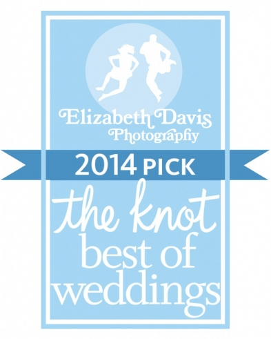 Elizabeth Davis Photography wins 2014 Best of The Knot Weddings
